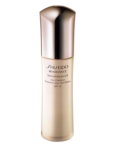 Shiseido Benefiance WrinkleResist24 Day Emulsion-NO COLOUR-75 ml
