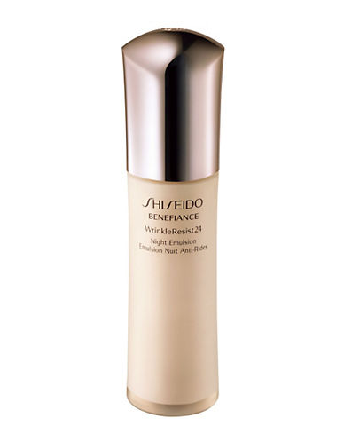 Shiseido Benefiance WrinkleResist24 Night Emulsion-NO COLOUR-75 ml