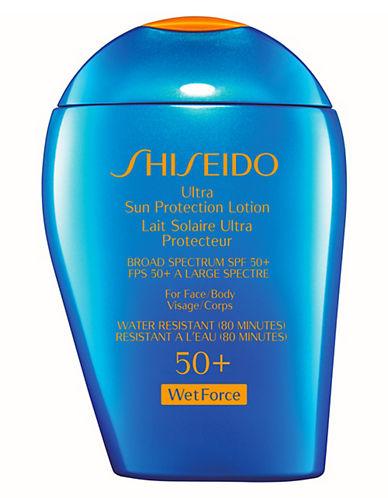 Shiseido Ultimate Sun Protection Lotion SPF 50 Plus WetForce-NO COLOUR-100 ml