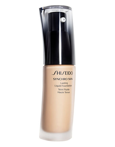 Shiseido Synchro Skin Lasting Liquid Foundation-GOLDEN 2-One Size