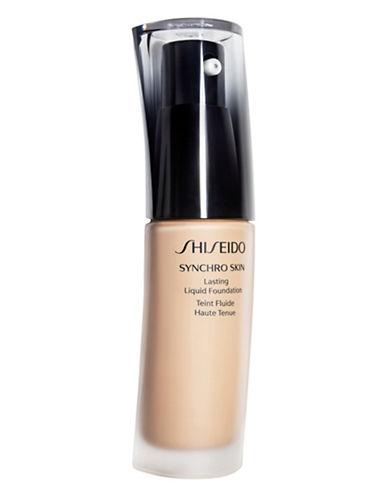 Shiseido Synchro Skin Lasting Liquid Foundation-GOLDEN 3-One Size