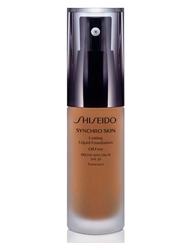 Shiseido Synchro Skin Lasting Liquid Foundation-GOLDEN 5-One Size