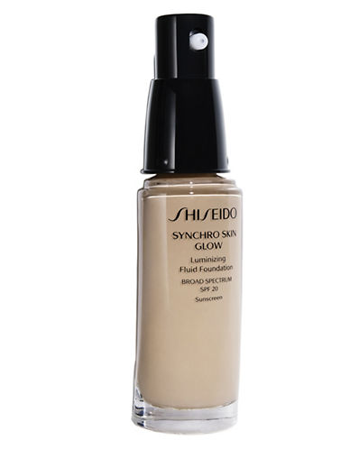 Shiseido Synchro Skin Glow Luminizing Fluid Foundation-N4-30 ml
