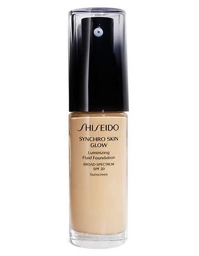 Shiseido Synchro Skin Glow Luminizing Fluid Foundation-G3-30 ml