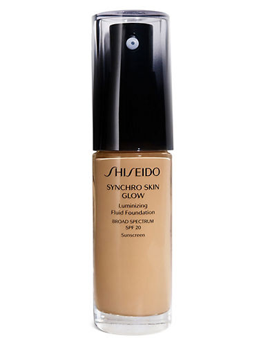 Shiseido Synchro Skin Glow Luminizing Fluid Foundation-G5-30 ml