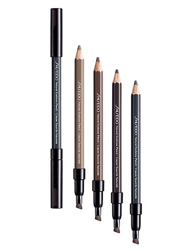Shiseido The Makeup Natural Eyebrow Pencil-NATURAL BLACK-One Size