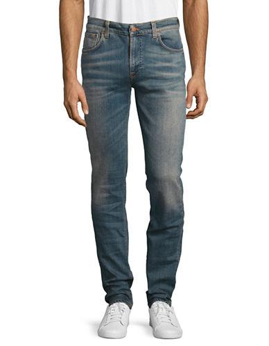 Nudie Jeans Thin Finn Navy Blaze Jeans-BLUE-29