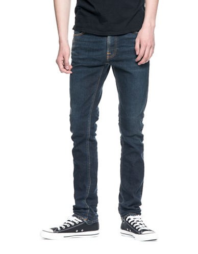 Nudie Jeans Lean Dean Endorsed Jeans-BLUE-28X32