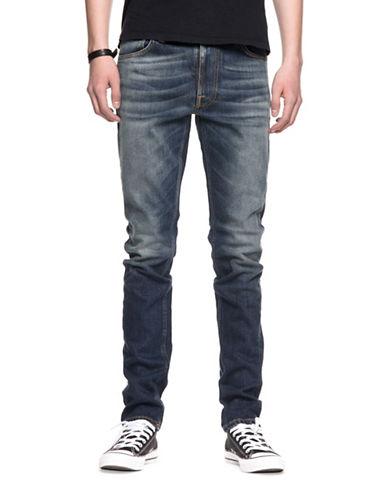 Nudie Jeans Lean Dean Crispy Bora Jeans-BLUE-34X32