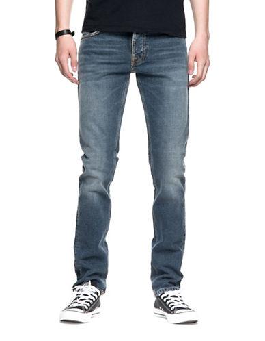 Nudie Jeans Grim Tim Cotton Jeans-BLUE-36X32