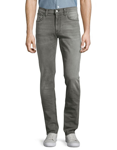Nudie Jeans Ace Straight Leg Jeans-GREY-31X34