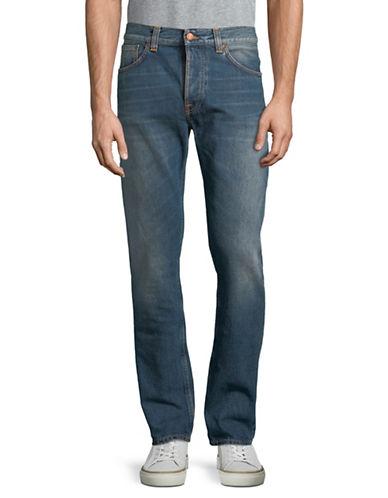 Nudie Jeans Fearless Freddie Crispy Clear Jeans-BLUE-38X32