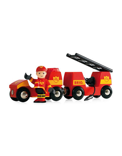 Brio Fire Engine Set-MULTI-One Size