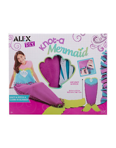 Alex Toys DIY Knot-A Mermaid Blanket-MULTI-One Size