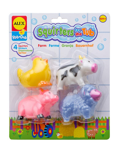 Alex Toys Farm Bath Squirters Tub Toy Set-MULTI-One Size
