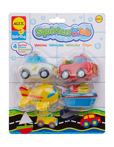 Alex Toys Transportation Bath Squirters Tub Toy Set-MULTI-One Size