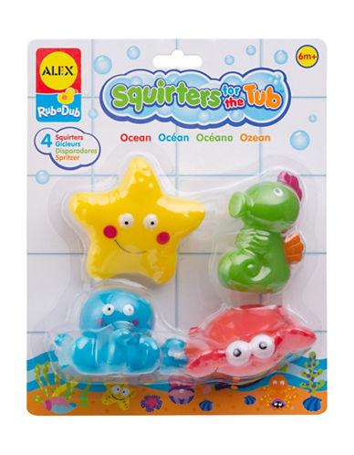 Alex Toys Ocean Bath Squirters Tub Toy Set-MULTI-One Size