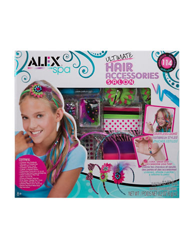 Alex Toys Ultimate Hair Accessories Salon Kit-MULTI-One Size
