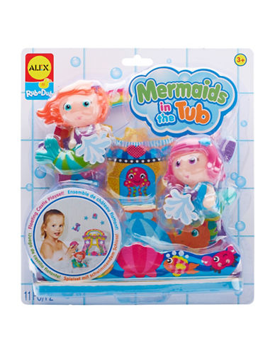Alex Toys Mermaids in the Tub 11-Piece Toy Set-MULTI-One Size