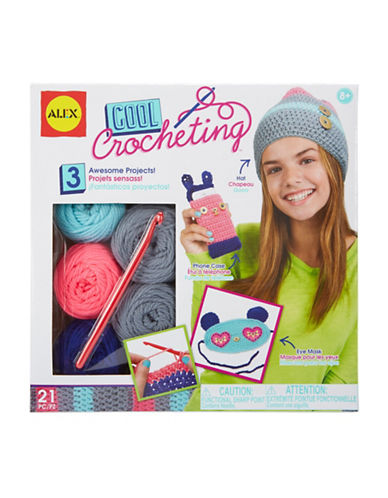 Alex Toys Cool Crochet Kit-MULTI-One Size