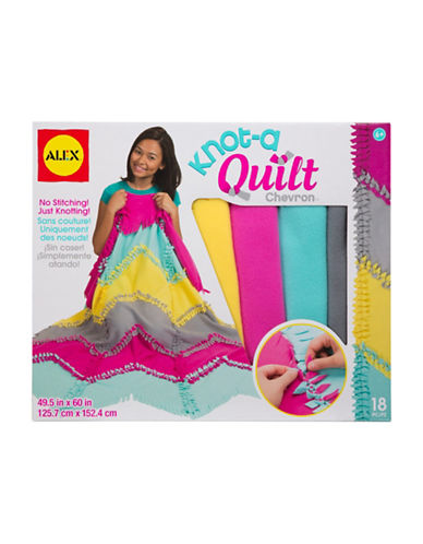Alex Toys Knot A Quilt Chevron Kit-MULTI-One Size
