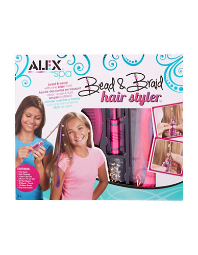 Alex Toys Bead and Braid Hair Styler-MULTI-One Size