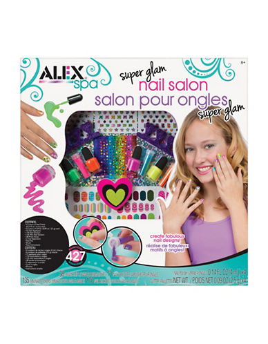 Alex Toys Ultimate Nail Glam Salon-MULTI-One Size