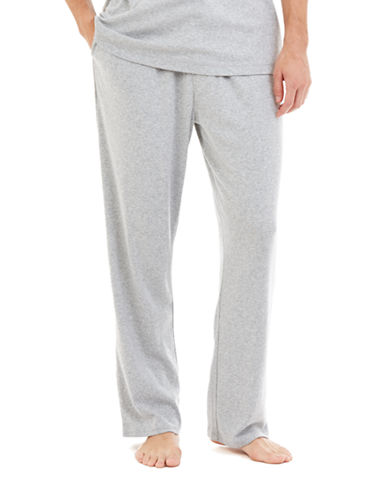 Nautica Drawstring Sleep Pants-GREY-Medium