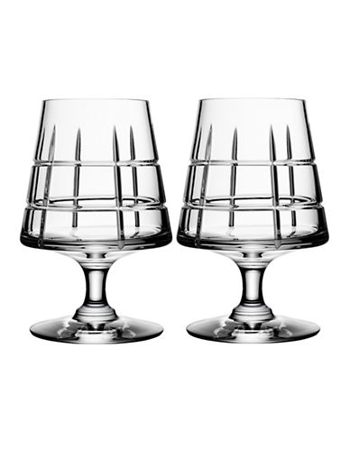 Orrefors Two-Pack Street Cognac Glasses-CLEAR-One Size