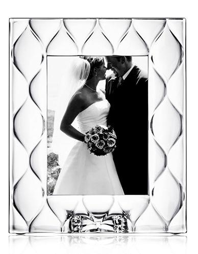 Orrefors Diamond Picture Frame-CLEAR-One Size
