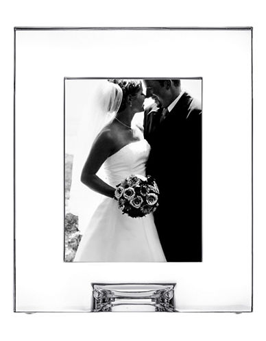 Orrefors Plaza Picture Frame-CLEAR-One Size