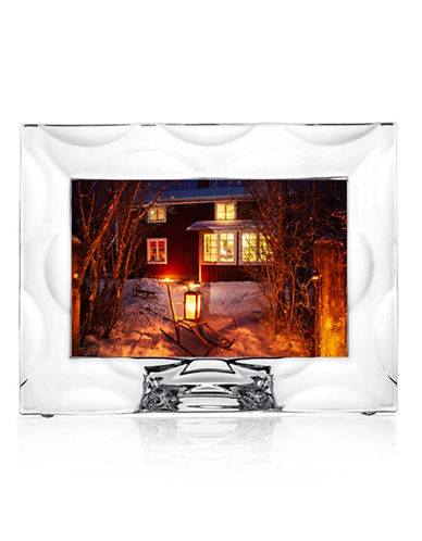 Orrefors Wave Picture Frame-CLEAR-One Size