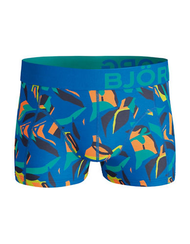 Bjorn Borg Abstract Graphic Short Shorts-BLUE-Large