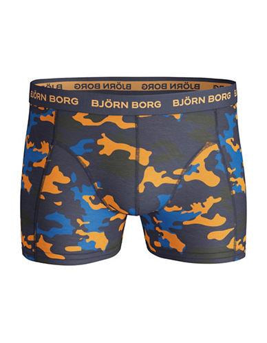 Bjorn Borg Camo Boxer Shorts-BLUE-Small
