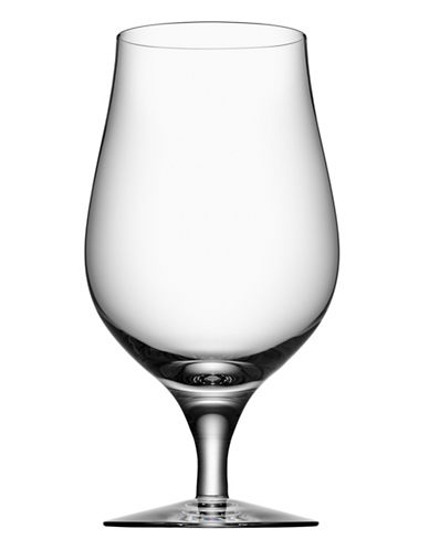 Orrefors Set of Four Beer Tasting Glasses-CLEAR-One Size