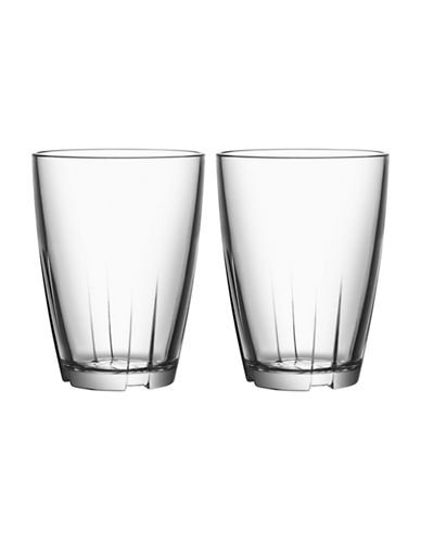 Kosta Boda Bruk Small Tumbler Pair-CLEAR-Large