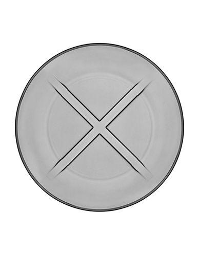 Kosta Boda Bruk Salad Plate-GREY-Small