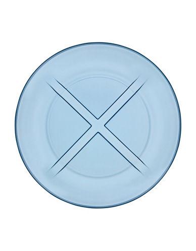 Kosta Boda Bruk Salad Plate-BLUE-Small