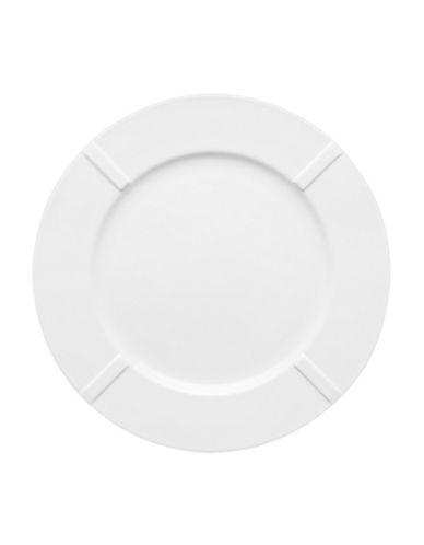 Kosta Boda Bruk Plate-WHITE-Large
