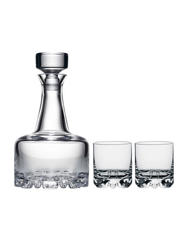 Orrefors Erik Decanter And Glasses Set-CLEAR-One Size