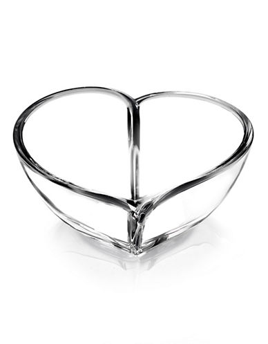 Orrefors Heart Crystal Bowl-CLEAR-One Size
