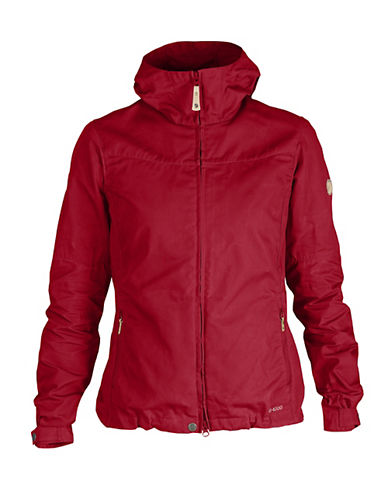 Fjallraven Sporty Zip Jacket-RED-Large 88312660_RED_Large
