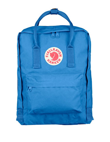 Fjallraven Kanken Logo Backpack-LIGHT BLUE-One Size