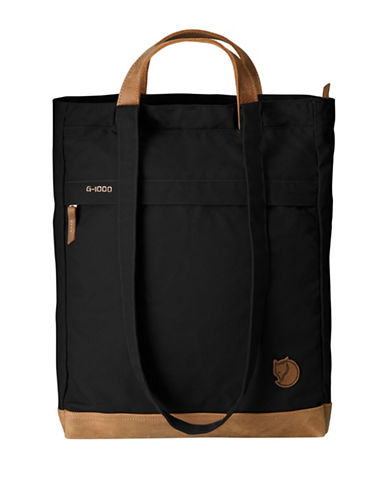Fjallraven Totepack No.2 G-1000 HeavyDuty Bag-BLACK-One Size