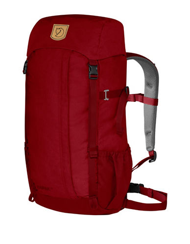 Fjallraven Kaipak 28 HeavyDuty Eco Backpack-RED-One Size