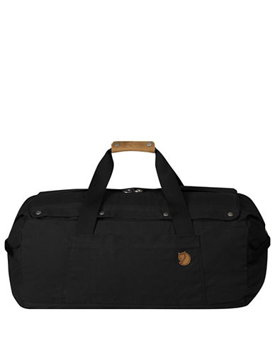 Fjallraven Duffel No.6 Medium Bag-BLACK-One Size