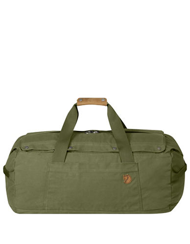 Fjallraven Duffel No.6 Medium Bag-GREEN-One Size