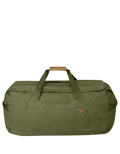 Fjallraven Solid Duffel No.6 Large Bag-GREEN-One Size