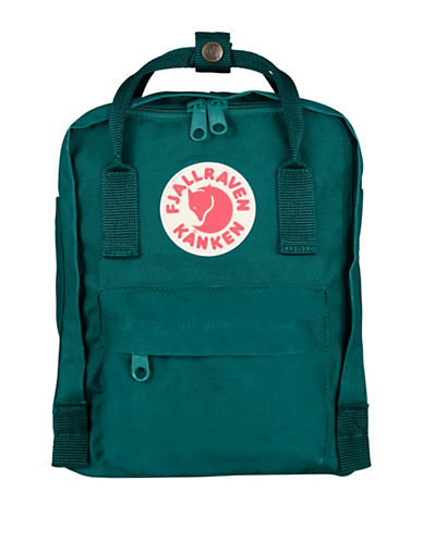 Fjallraven Kanken Mini Backpack-OCEAN GREEN-One Size