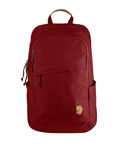 Fjallraven Raven HeavyDuty Eco Backpack-RED-One Size